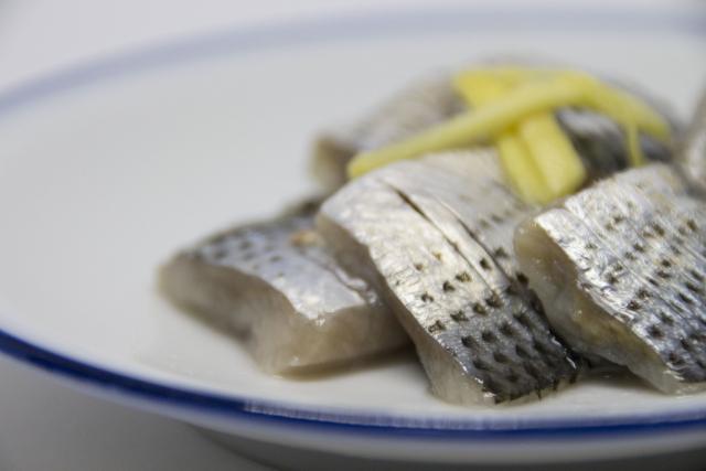 コノシロ(コハダ)の甘酢漬け